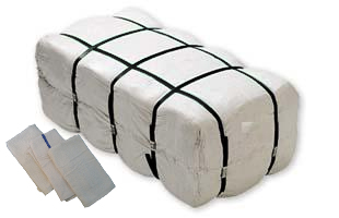Black Friday Special ! 60pcs Bar Mops. 16x19 Bar Mops in Bags - 60 pcs per bag.  9 LBS 100 % cotton.imported plain White.
