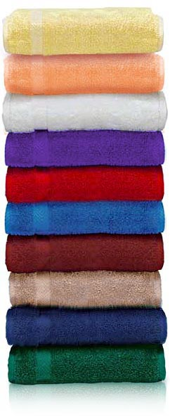 EMBROIDERED 24x48 Bath Towel by Royal Comfort, 9.0 Lbs per dz, Combed Cotton