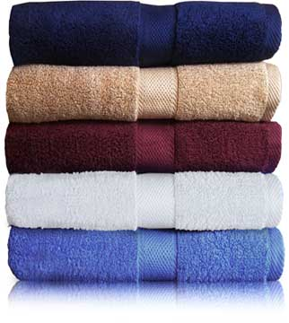 TowelsOutletcom EMBROIDERED 30x56 bath towel by Oval Office