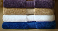 EMBROIDERED 34x68 Luxurious Bath Sheets  By Crown Jewel, 21.0 Lbs Per Dz, 100% Giza Egyptian Cotton. North America Made