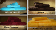 Crown Jewel Luxurious Bath Set (assorted colors). 12 Sets.