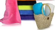 34x70 Terry Beach Towels by Royal Comfort 100% Cotton Velour. 19.0 Lbs/ Dz, 100 % Ring Spun Cotton.