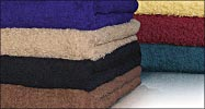 16x27 Economy Hand Towels (assorted colors) by Royal Comfort. 2.7 Lbs per/ dz. weight. Pack 120 per case.