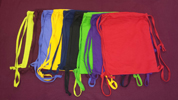 EMBROIDERED 14x17 Blended Knitted Tote bag , 3.7 lbs per dz, Drawstring Bags