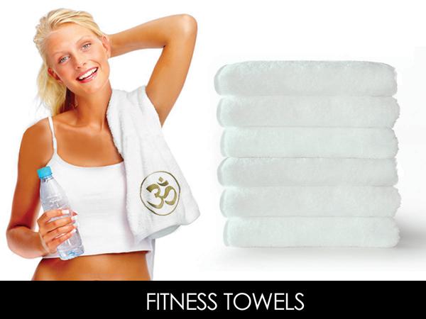 Cottonfruit Com Embroidered Crown Jewel Gym Towels