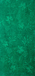 30x60 Solid Green Hibiscus Fiber Reactive Jacquard Beach Towel.