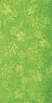 30x60 Solid Lime Hibiscus Fiber Reactive Jacquard Beach Towel.