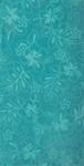 30x60 Solid Turquoise Hibiscus Fiber Reactive Jacquard Beach Towel.