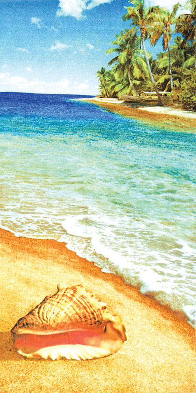 30x60 Lost Paradise Fiber Reactive Beach Towel.
