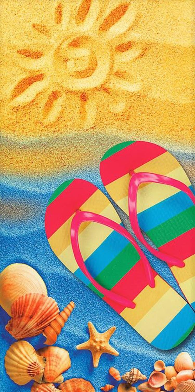 30x60 Sunny Beach  Fiber Reactive Beach Towel.