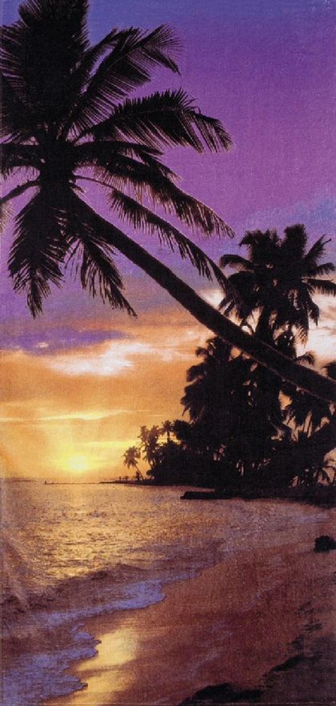 30x60 Sunset Beach Fiber Reactive Beach Towel.