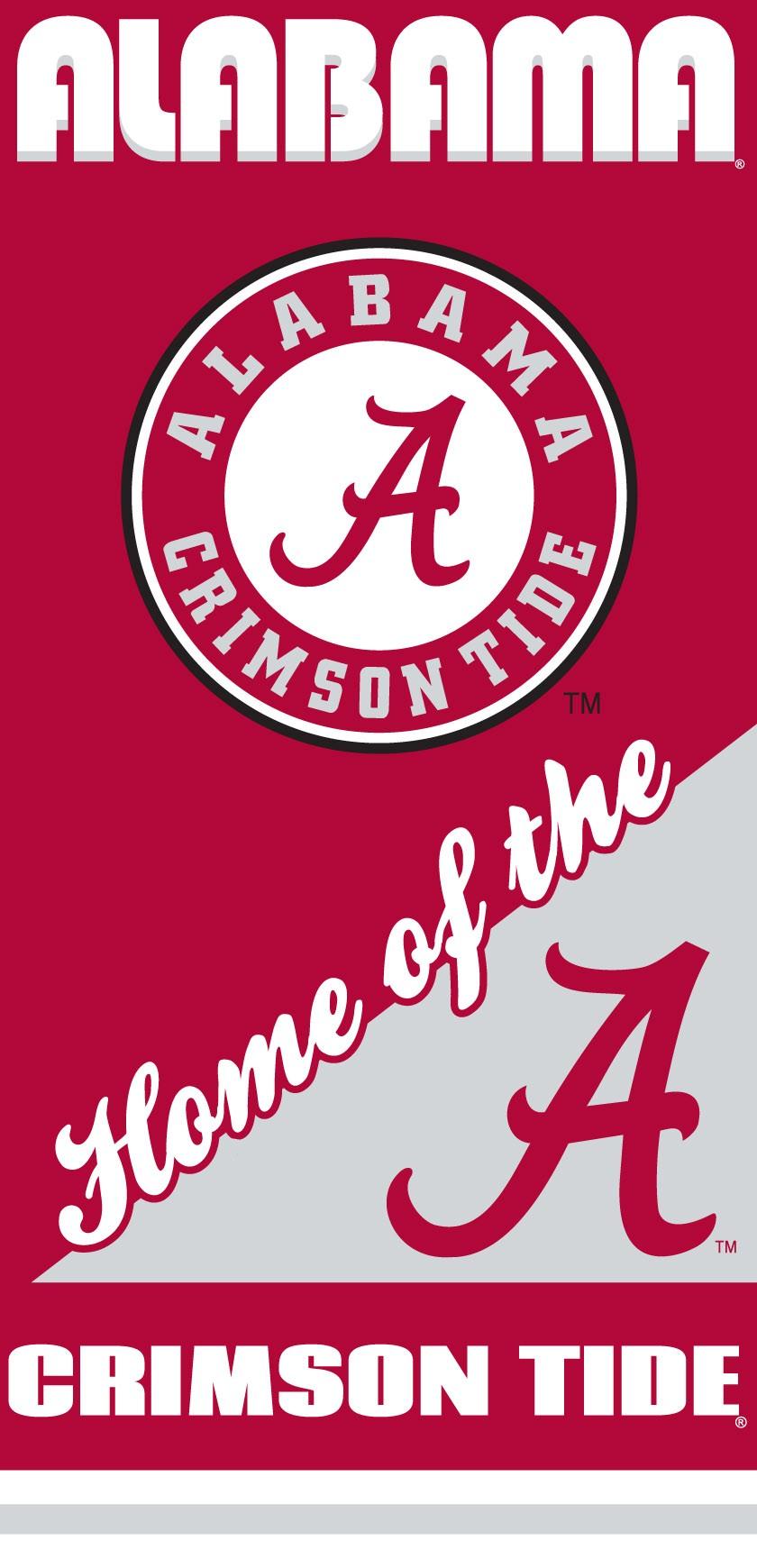 Alabama Crimson Tide Home Beach Towel
