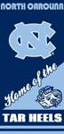 North Carolina Tar Heels Home Beach Towel