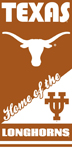 Texas Long Horns Home Beach Towels