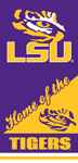 LSU Tigers Home Beach Towel