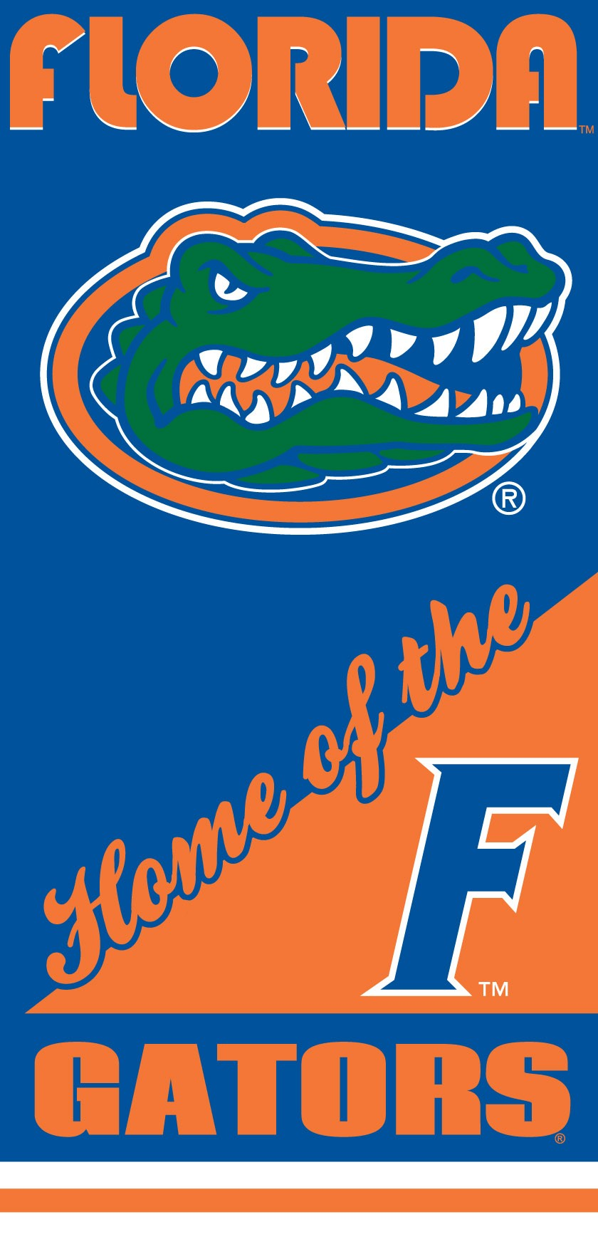 Florida Gators Home Beach Towel