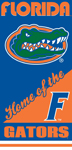 Florida Gators Home Beach Towel