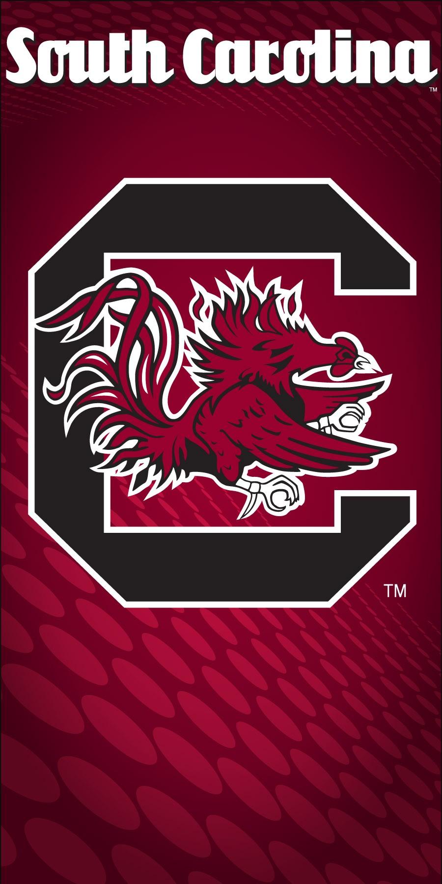 South Carolina Gamecocks Logo Beach Towel