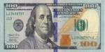 New 100 Dollar Bill Beach Towel