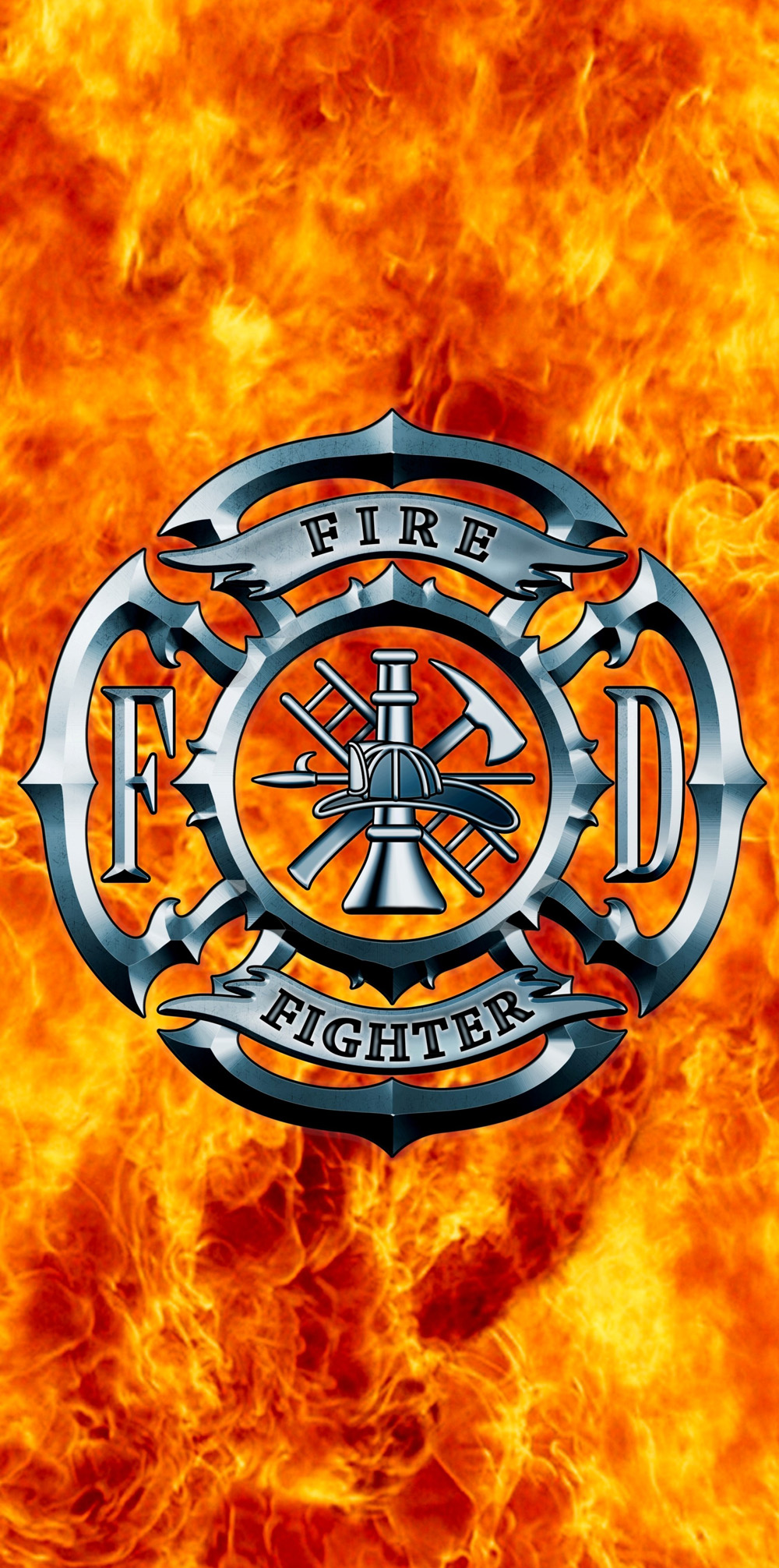 Fire Fighters Beach Towel