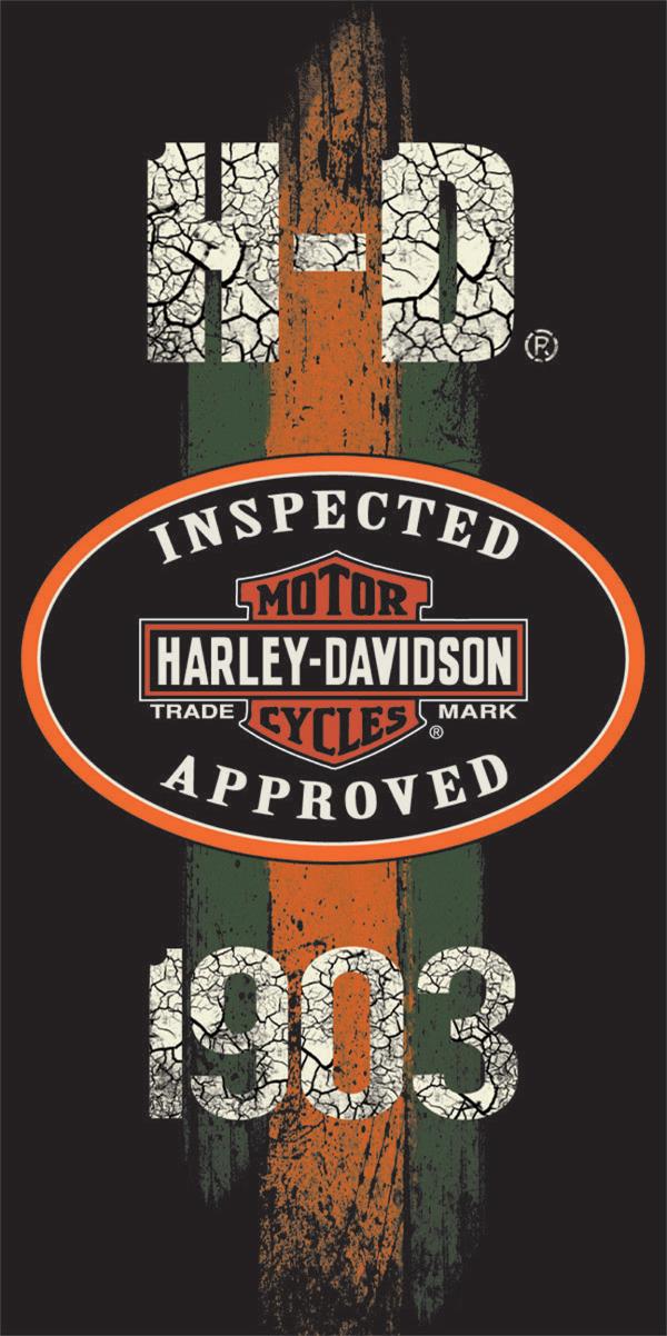 Harley Davidson 1903 Beach Towel