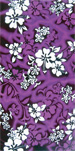 Purple Hibiscus beach towels