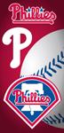Philadelphia Phillies Ball Beach Towel