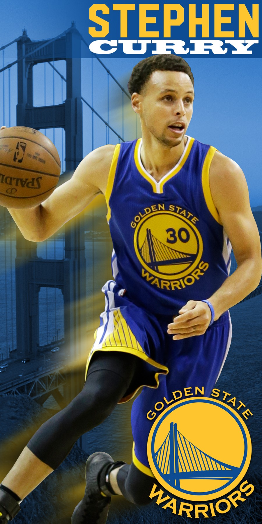Stephen Curry Golden State Warriors Beach Towel