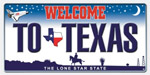 Texas Plate Beach Towel