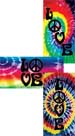 TIE DYE LOVE COLLECTION beach towels