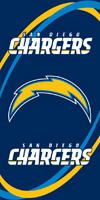CHARGERS beach towels