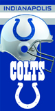 COLTS beach towels