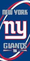 NY GIANTS beach towels