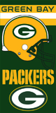 Green Bay PACKERS -1  beach towels