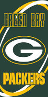 Green Bay PACKERS  beach towels