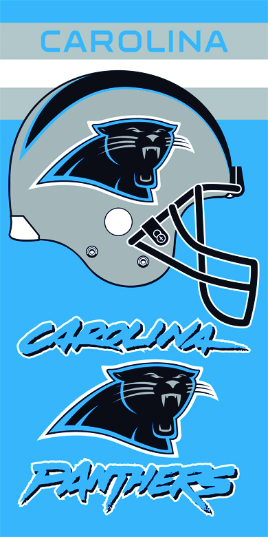 Panthers - 1 beach towels
