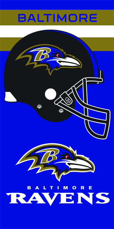 RAVENS - 1 beach towels