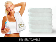 Crown Jewel Gym Towel , Size 16x44 . 5.1 Lbs Per dz. made in north America