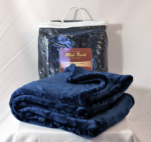 60x72 Oversized Mink Touch Luxury Blanket