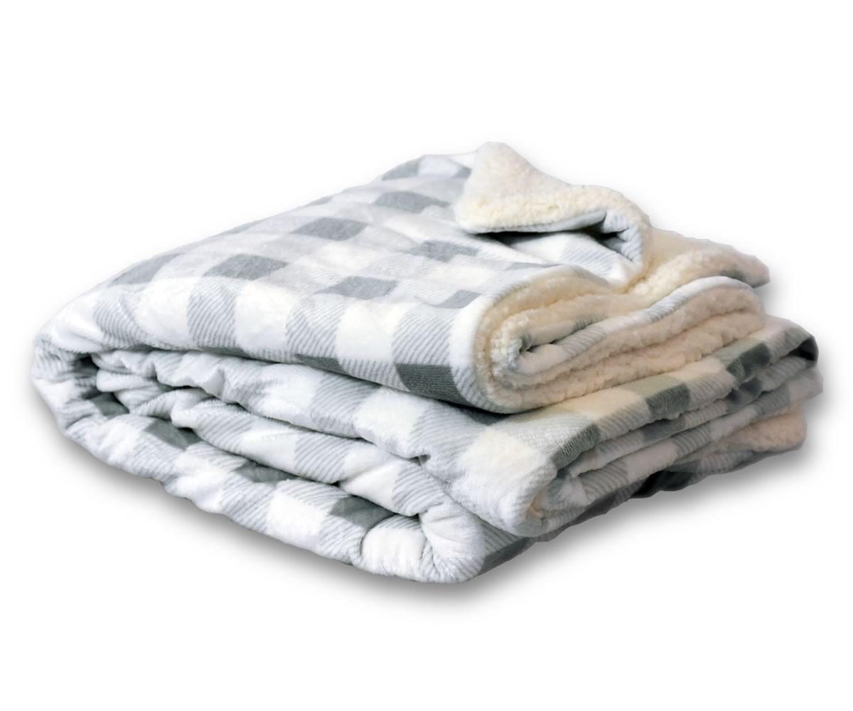 Towelsoutlet Com 50x60 Micro Mink Sherpa Blanket