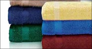 On Sale - Special Price !! 30x52 Bath Towels by Royal Comfort, 14.0 Lbs per dz, Combed Cotton (Assorted Colors) 24 pcs per case.