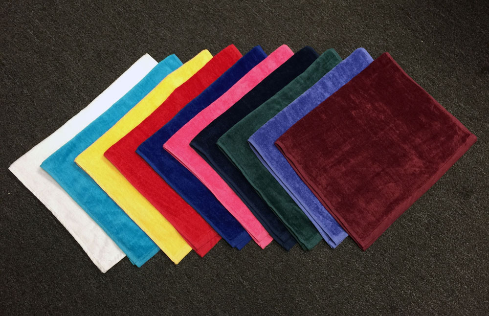 16x25 Hand Towel made of 100% Combed Cotton, Combed Cotton Loops by Royal Comfort, 120 per case.(Assorted Colors)