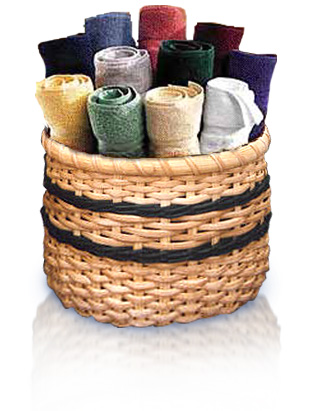 13x13 washcloths (assorted colors) by Royal Comfort 120 pcs per case.
