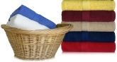 EMBROIDERED 30x52 Shuttleless Loom Bath Towels by Royal Comfort, 14.0 Lbs per dz, Combed Cotton.