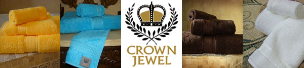 Crown Jewel Bath Towels Sheets and Bath Sets