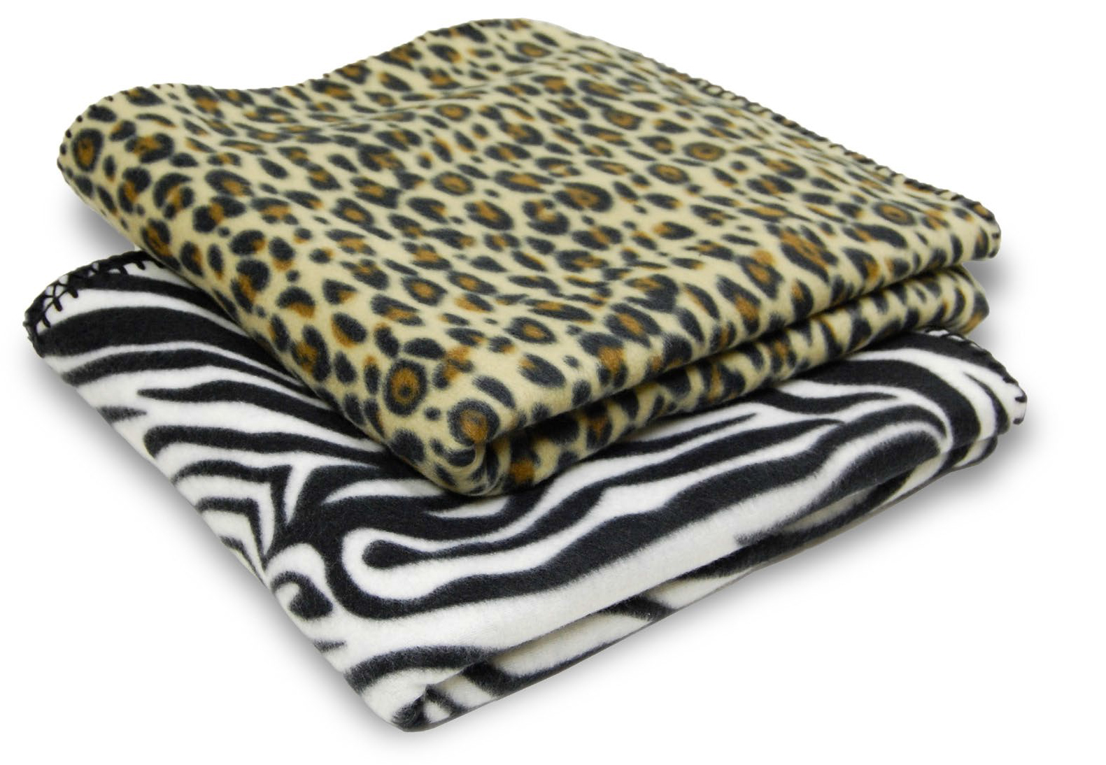 Animal Print Fleece Blanket
