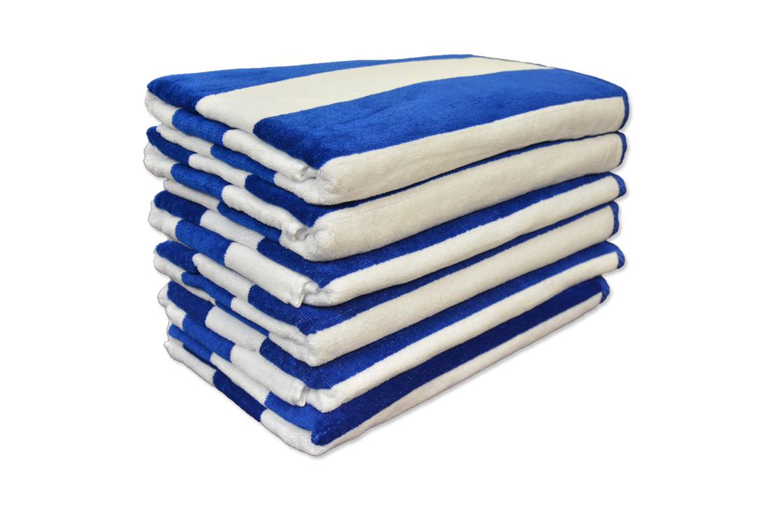 Beach Towel: 30x62 Terry Beach Towels Cotton Velour
