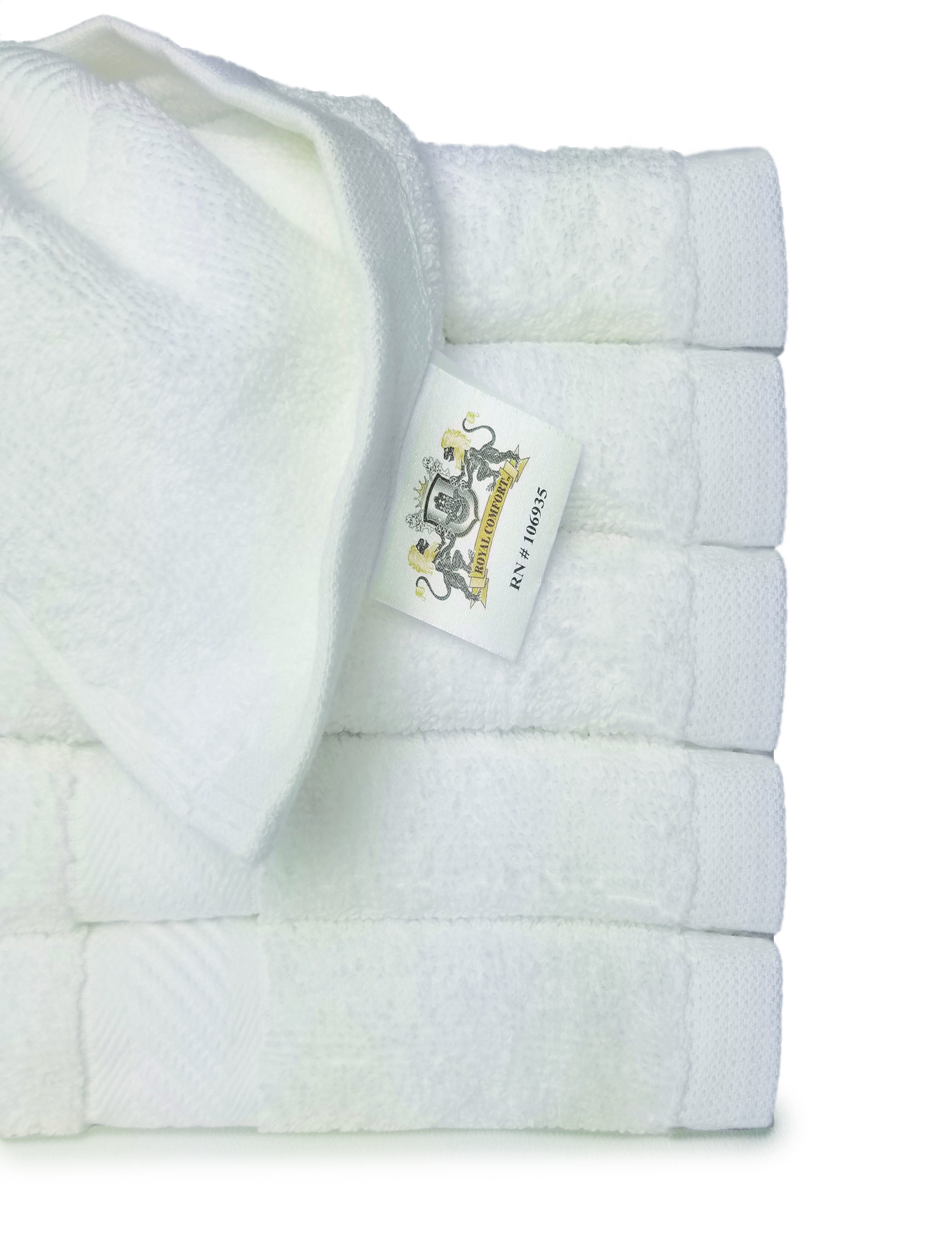 SHIPPING INCLUDED  24x48 Bath Towels by Royal Comfort 10.8 Lbs/Dz  Woven   RING SPUN COTTON