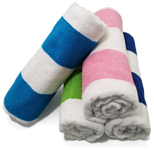 30x60 Lightweight Economy Cabana Beach Towels. (Assorted Colors)
