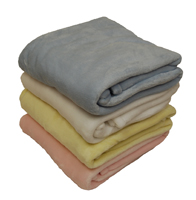 EMBROIDERED 30x40 Mink Touch Baby Blankets